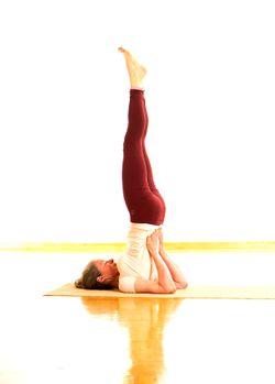 Sarvangasana Yogawiki