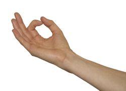 daumen zeigefinger kleiner finger